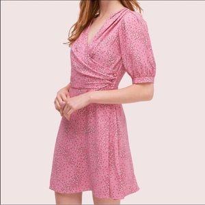 NWOT KATE SPADE New York pink meadow dress
